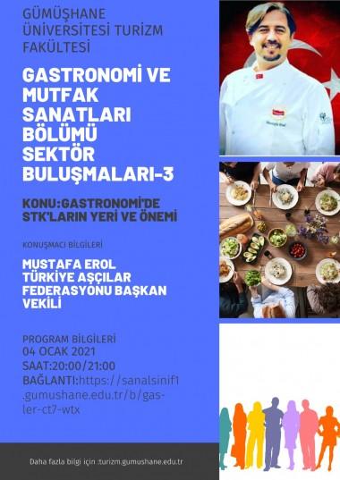 Third Online Gastronomy Talks Held