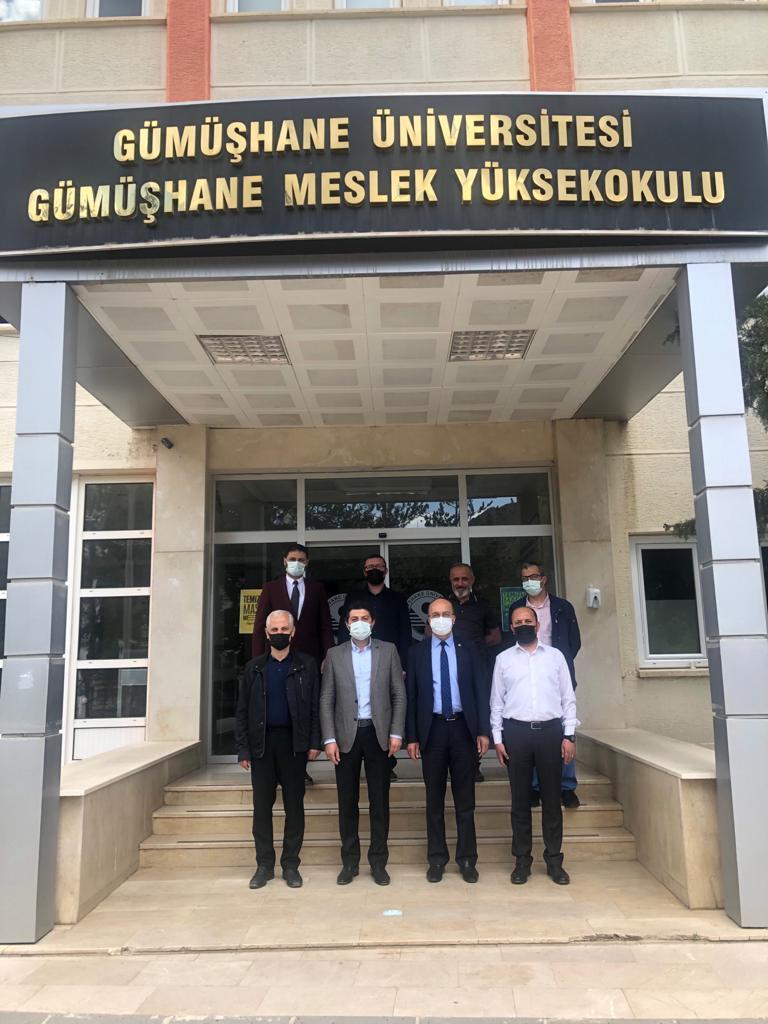 Meslek Yüksekokulumuzda Devir Teslim Töreni Gerçekleştirildi