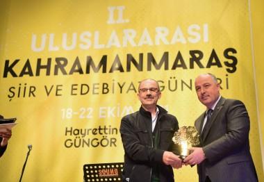Öğretim Üyemiz Şimşek'e Uluslararası Ödül