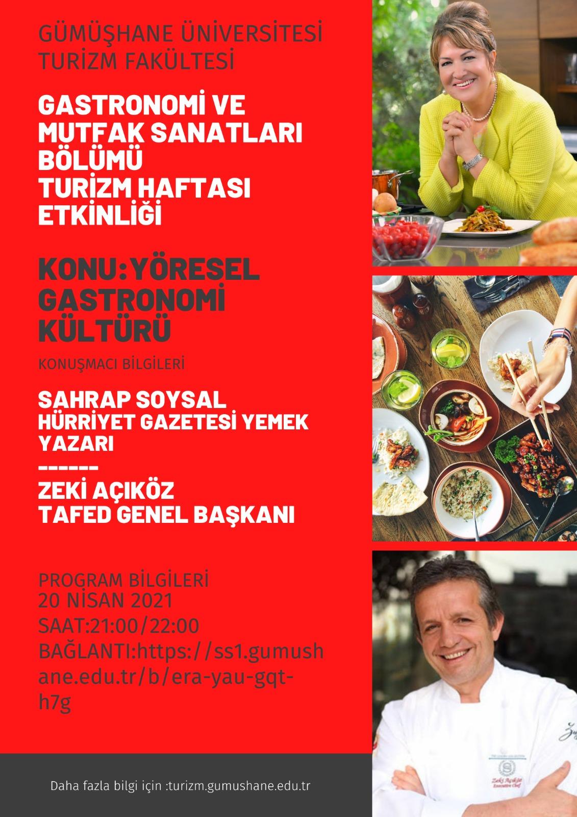 Yöresel Gastronomi Kültürü Etkinliği Üniversitemizde Düzenlendi